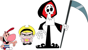 Vector - Billy, Mandy and Grim (LARGER RESOLUTION) by ilhaJaoT