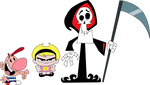 Vector - Billy, Mandy and Grim (LARGER RESOLUTION)