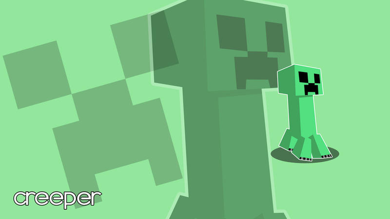 Minecraft Creeper Wallpaper Mac Images & Pictures - Becuo