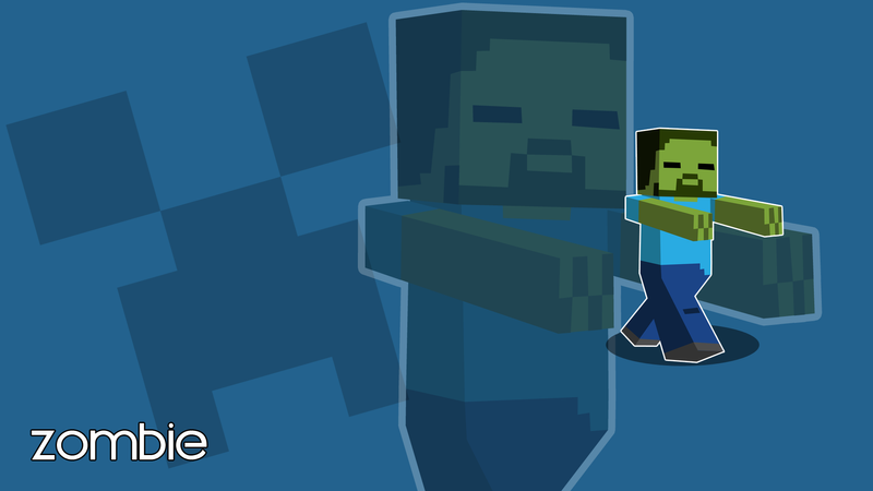 cool wallpapers of minecraft zombies - photo #16