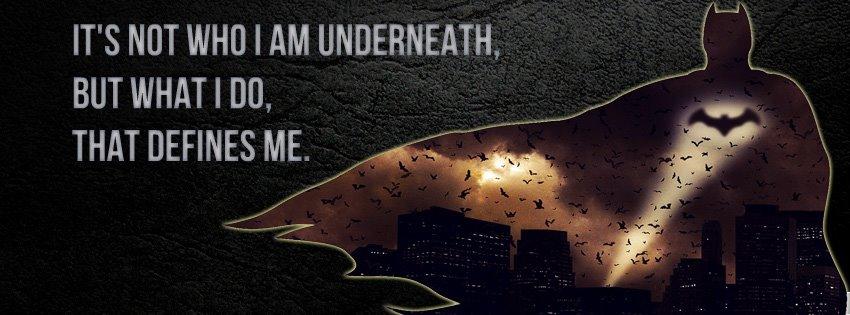 Batman Begins Facebook Cover by raisrulez