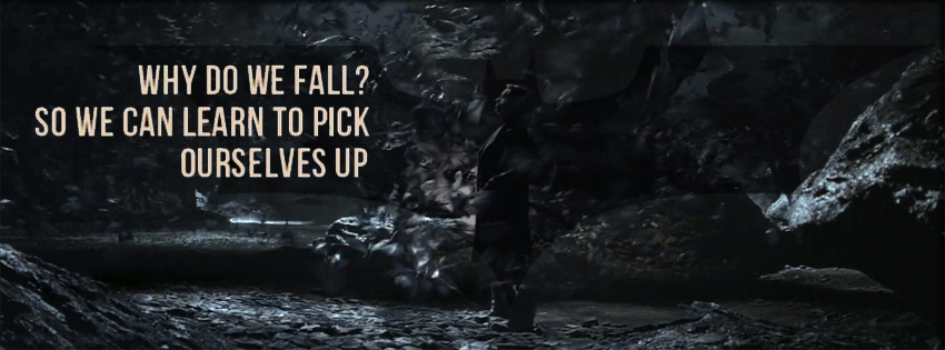 Why do we fall? - Facebook cover by raisrulez