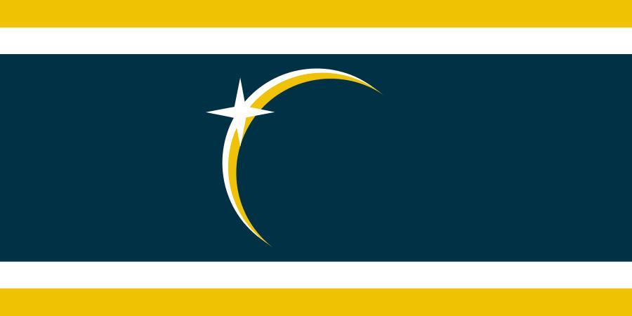 Flag of United Earth by GarudaTeam