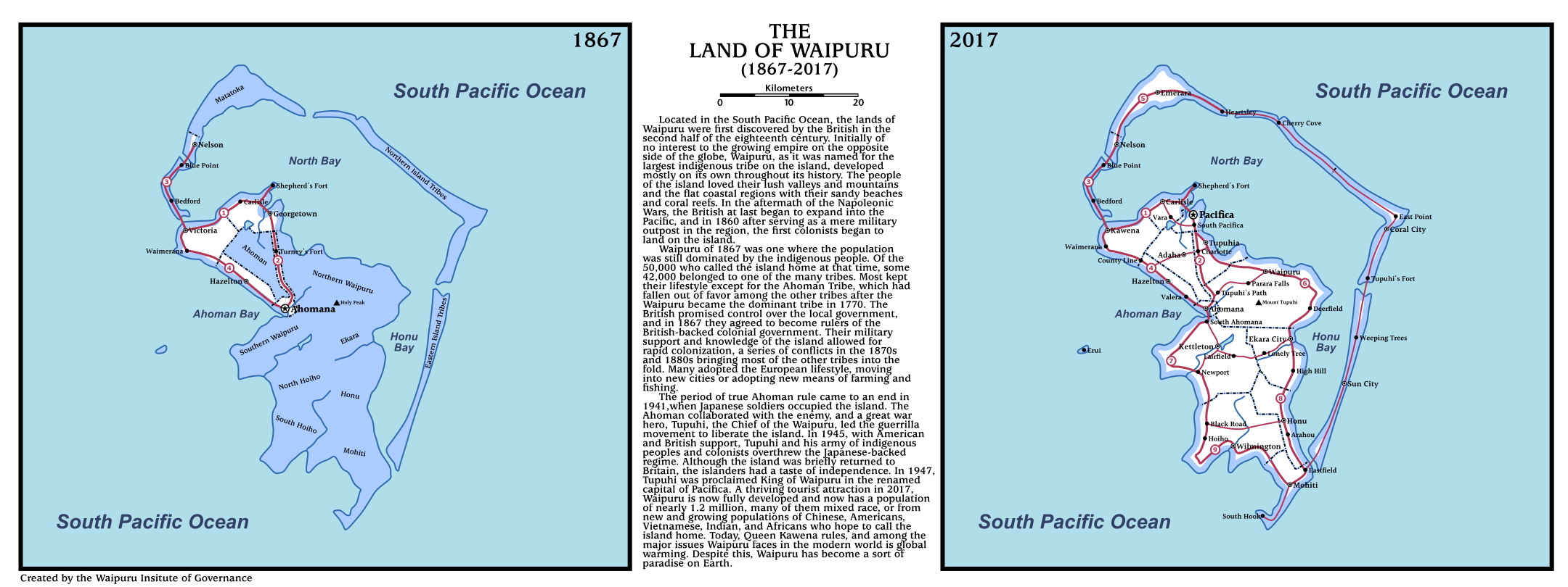 The Land of Waipuru (MotF 150: Sesquicentennial)
