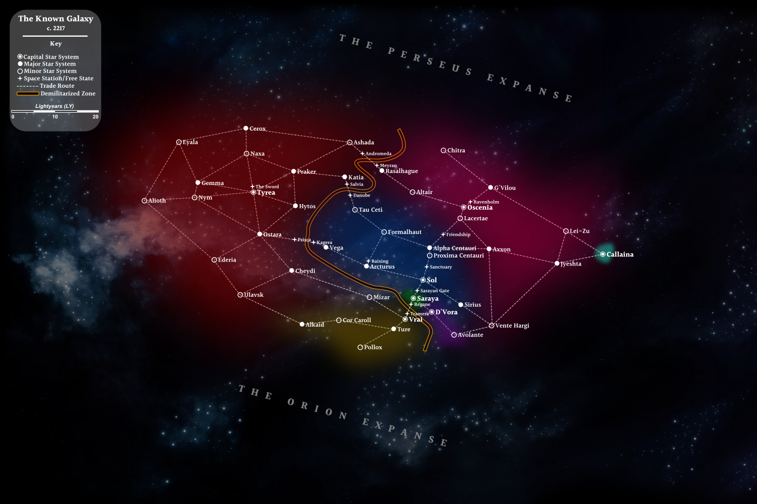 The Known Galaxy (2217)