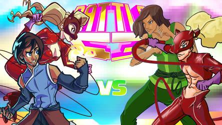 Gender Bender Fight Collab JAM! by Video320