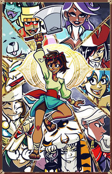 Ajna and her amazing friends
