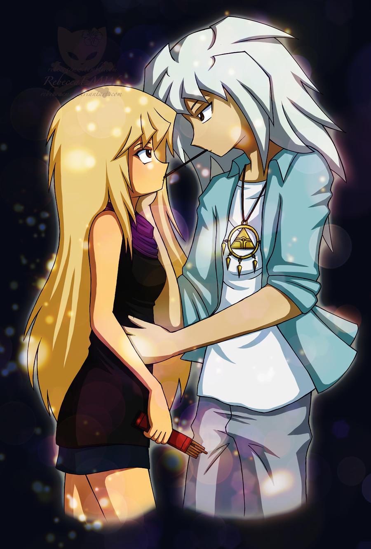SoulShipping - Eli and Bakura by LittleMissWiseass on