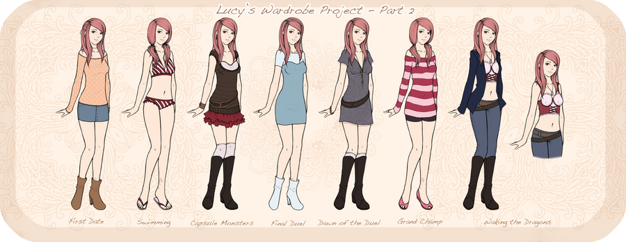 Lucy's Wardrobe Project - 2 by LittleMissWiseass