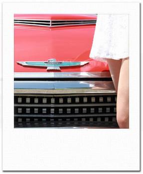 mini-Polaroid Frame Flat Legs