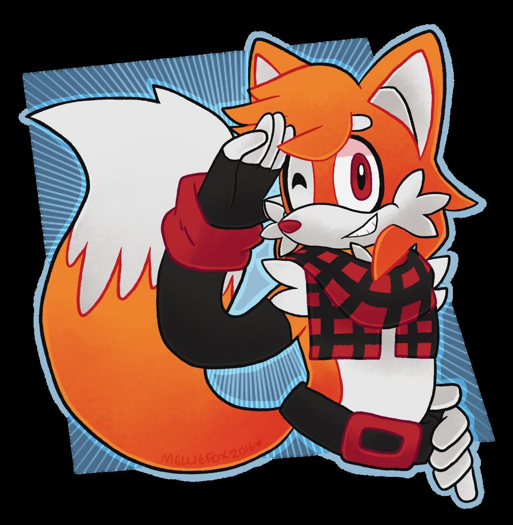 WHOA! A FOXY BOY! by MellieFox