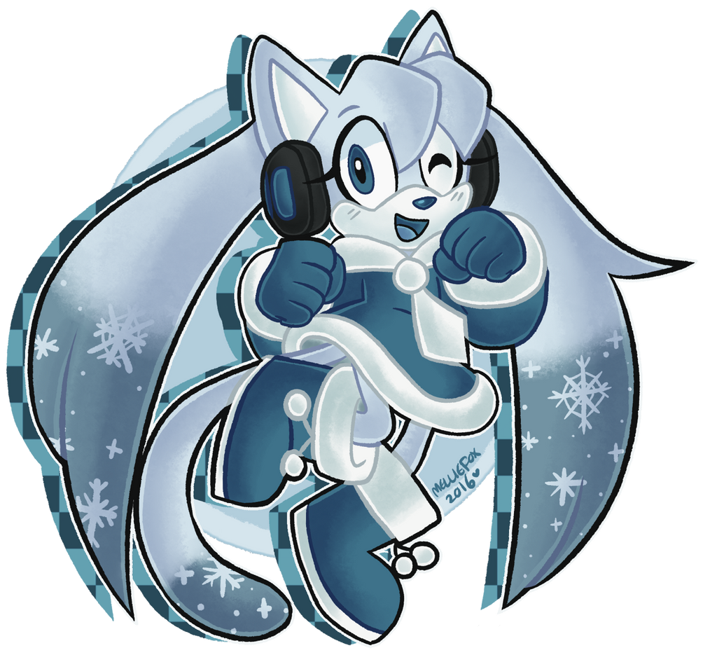 Snow Lyre~ by MellieFox