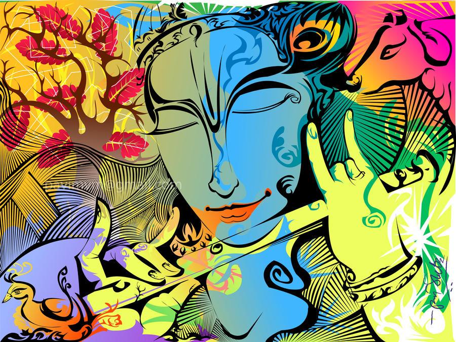 Krishna by pavisankar