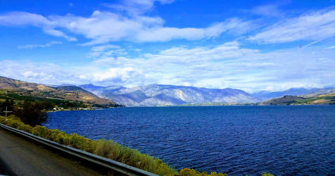Lake Chelan by Covered-In-Dust