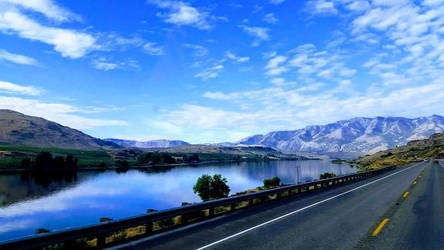 Near Lake Pateros by Covered-In-Dust