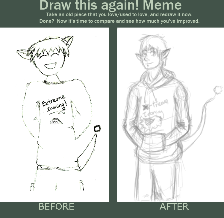 Improvement Meme by Hyau