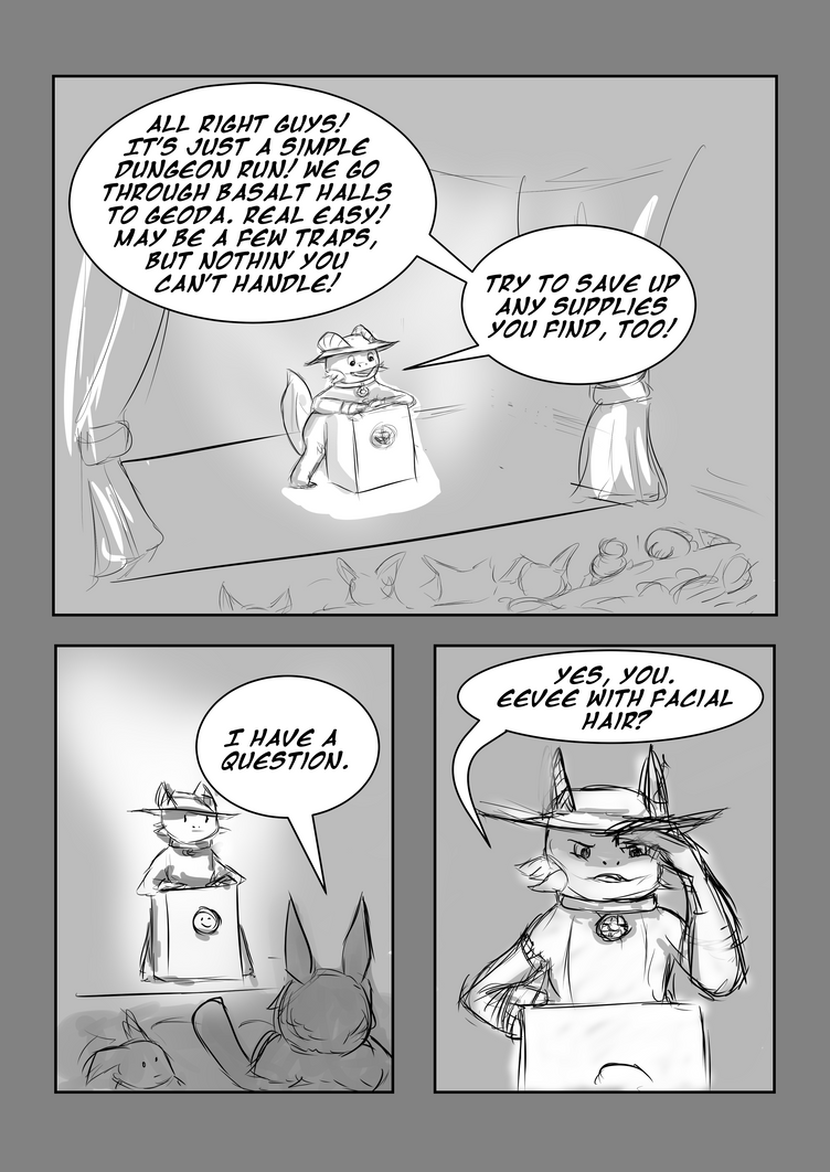 Fast Times at Basalt Halls - Page 1 by Hyau