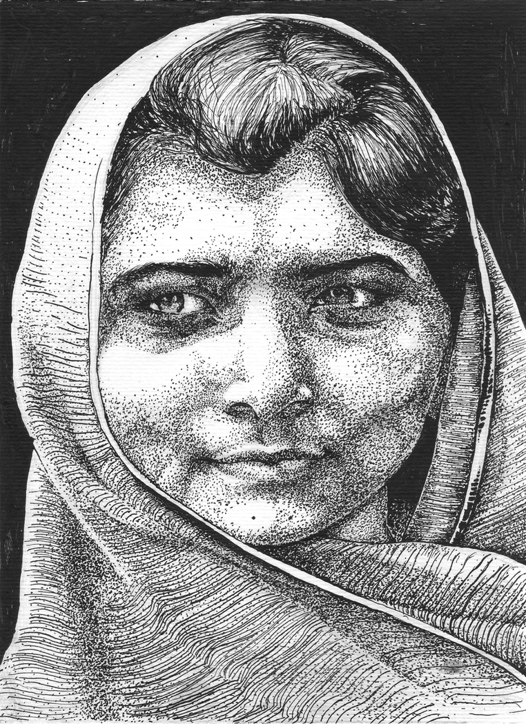 Malala Yousafzai by GrandTA5