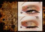 Steampunk make-up by OrderOfShadows