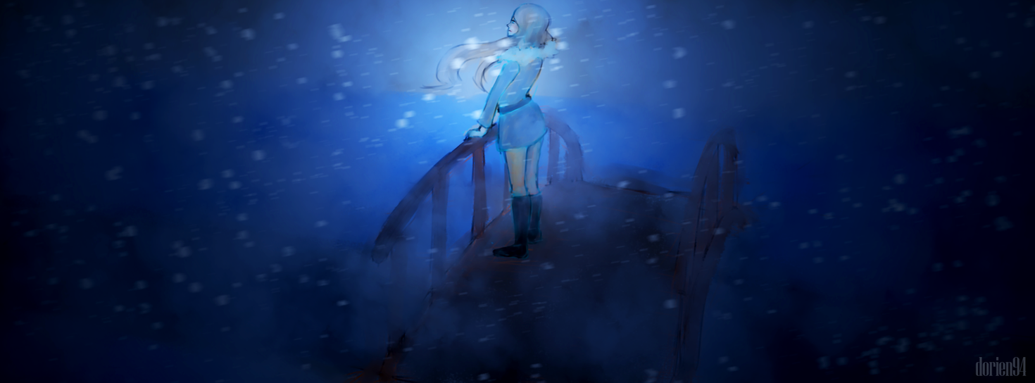 Random Drawing: Winter Storm by dorien94
