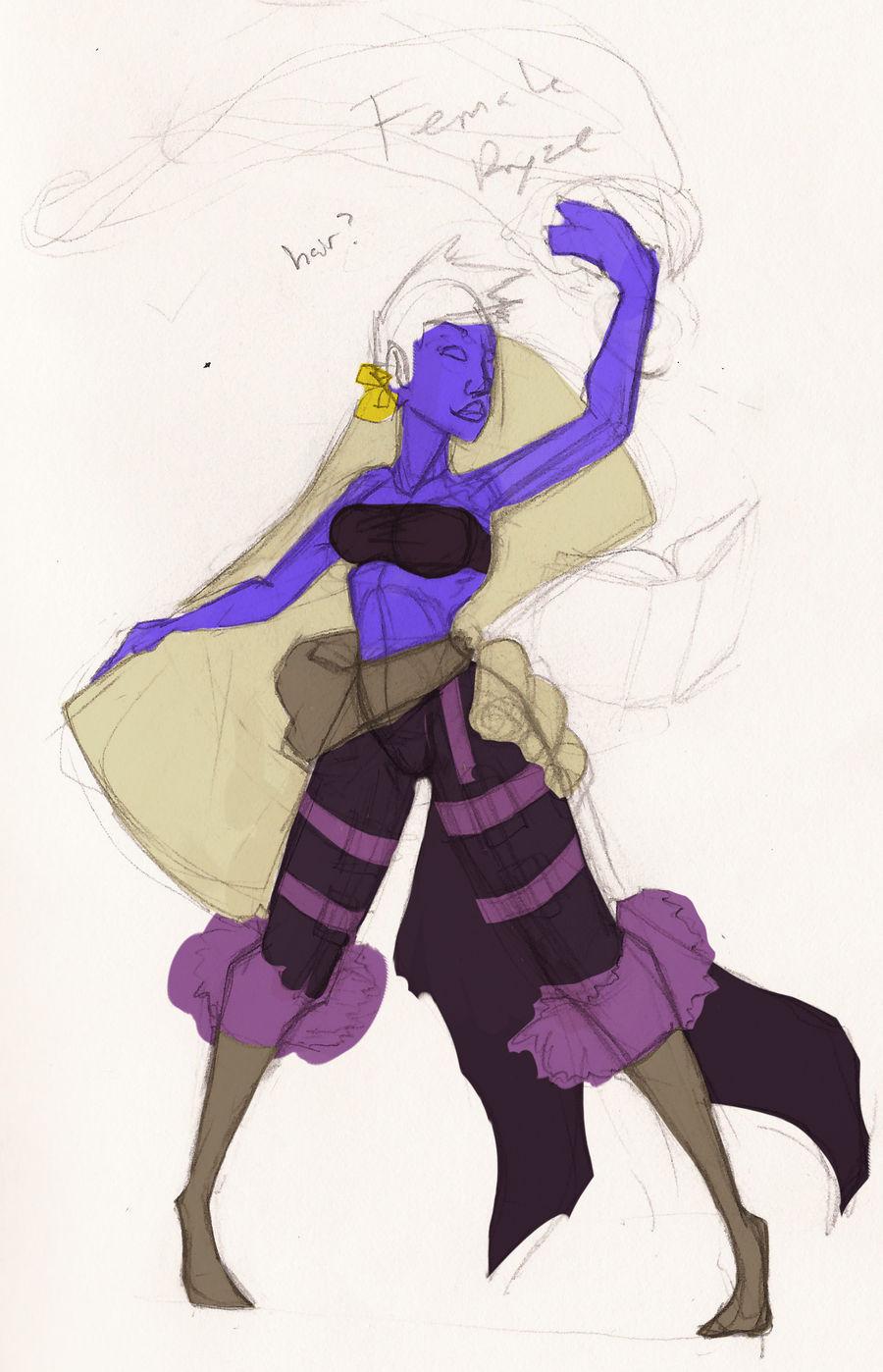 Female Ryze Sketch
