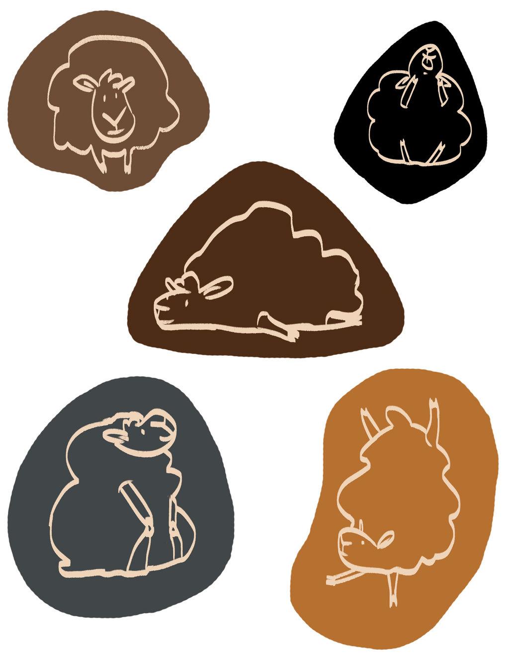 Derp Sheep Stickers
