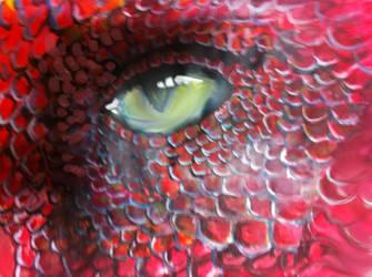 Dragon eye by Nicolaspok