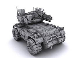 Armored Vehicle by Pirosan