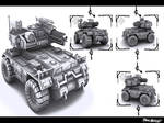 Armored Vehicle Wallpaperized