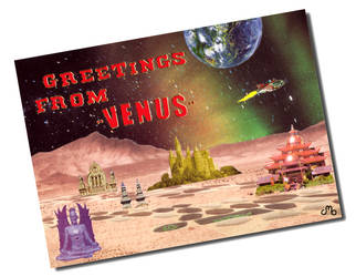 Postcard from Venus by OsoskiArt