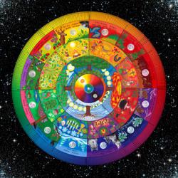 Perennial Mandala Calendar Poster by OsoskiArt