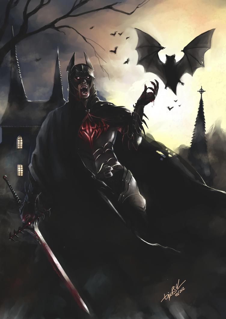 Batman - The Vampire Knight by DiegooCunha