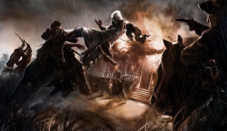 Assassins Creed - Cicatrizes da Liberdade 3 by DiegooCunha
