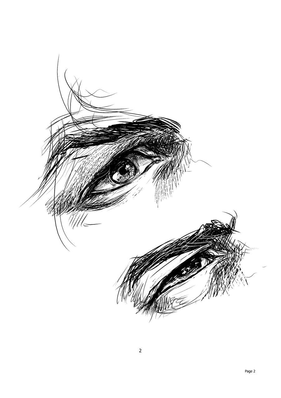Eye Sketch by DiegooCunha
