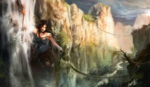 Lara on the Bridge by DiegooCunha