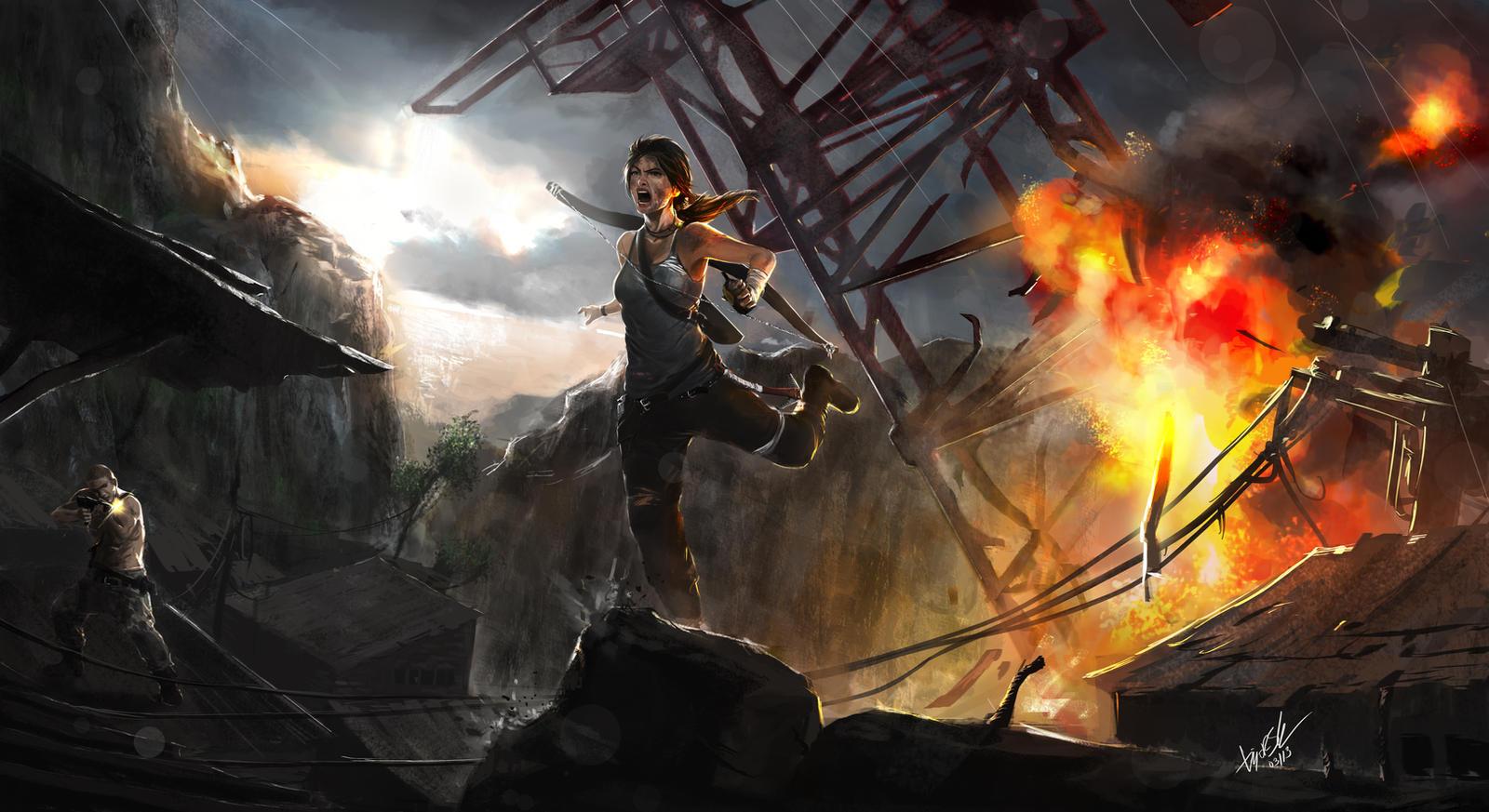 Tomb Raider Reborn - Explosive!! by DiegooCunha