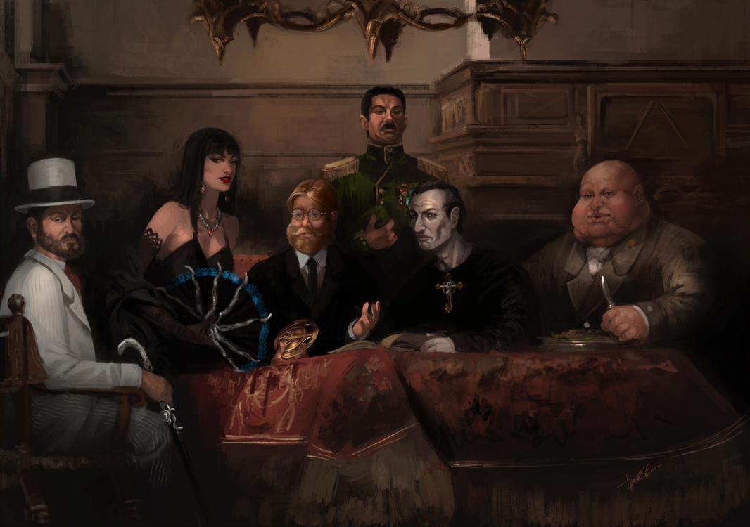 Commission - Camarilha da dor by DiegooCunha