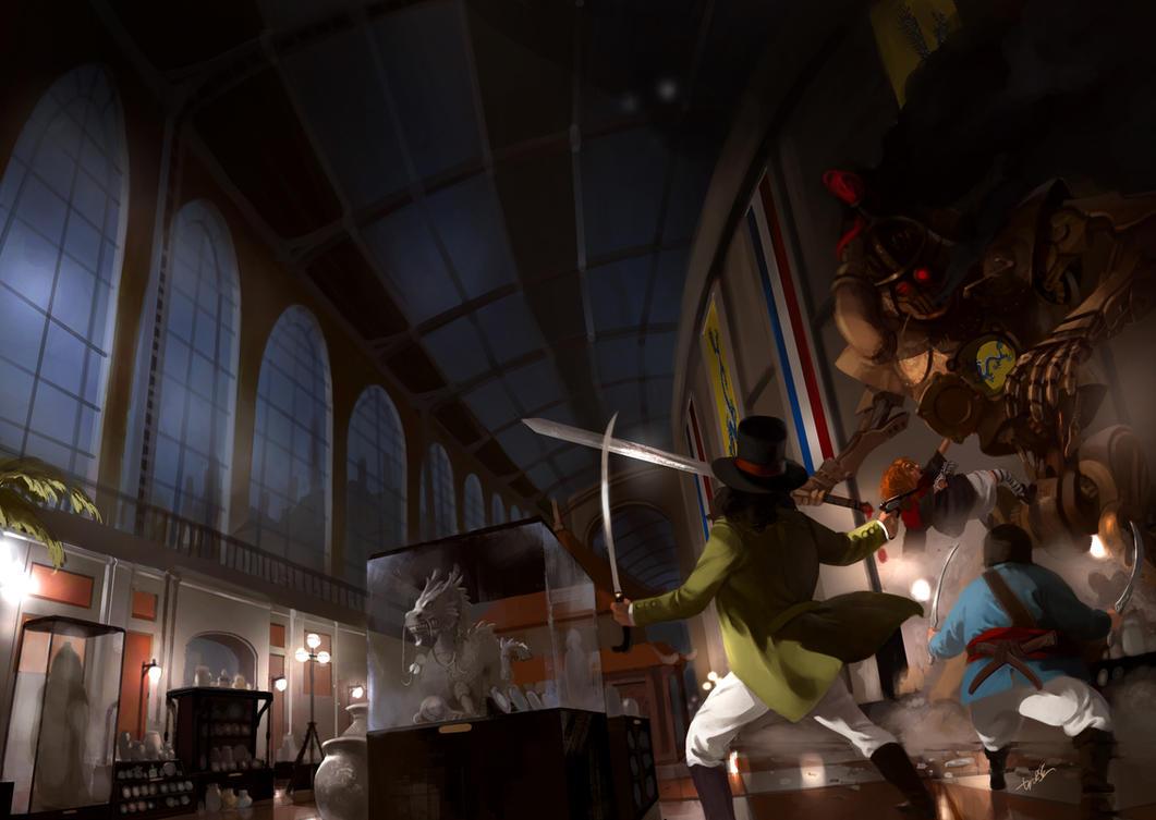 Le Chavalier e a Exposicao Universal by DiegooCunha
