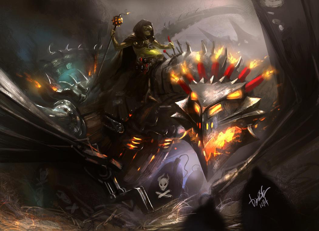 Dragonmaster Goblin by DiegooCunha