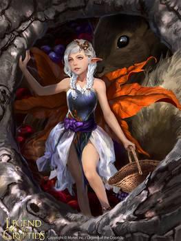 Harvest Fairy Poupee REG
