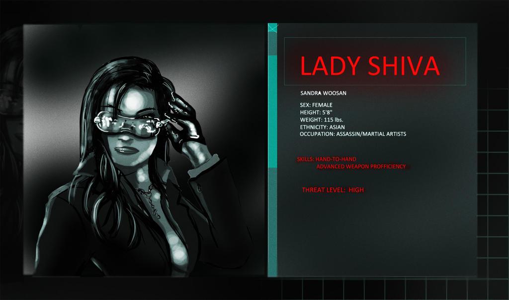 Arkham Origins: Lady Shiva By J-indmand On DeviantArt