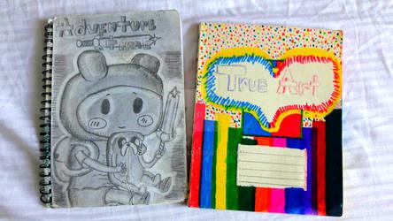 Notebook Covers Art
