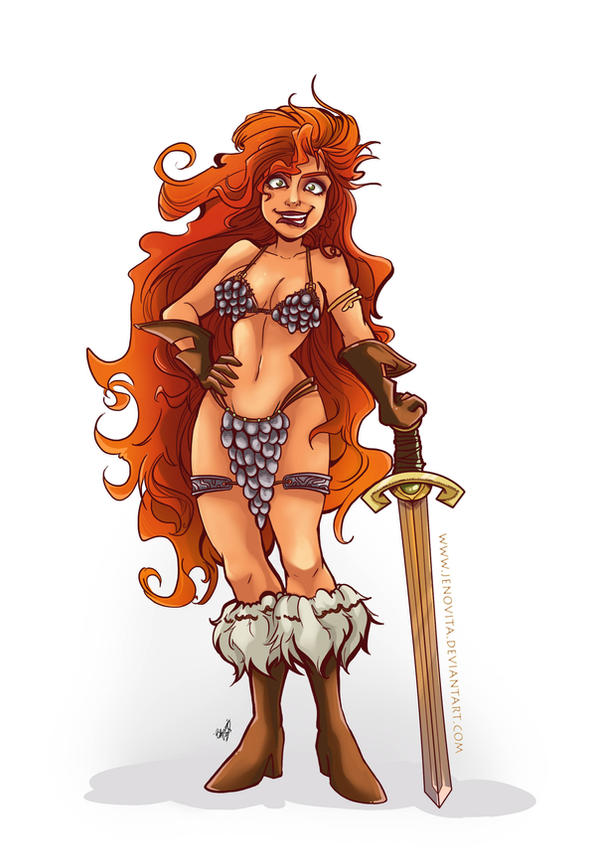 Red Sonja by Jenovita