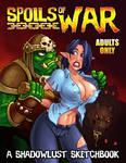 Spoils of War: a Shadowlust Sketchbook by Necrovert