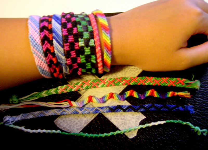 Bunch of Friendship Bracelets by Kimaba