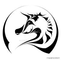 Horse Line art