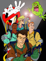 WE NOW RETURN TO THE REAL GHOSTBUSTERS!!! by Optic-AL