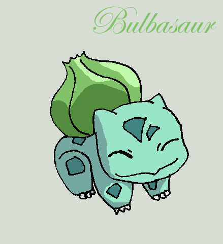 Bulbasaur by Roky320