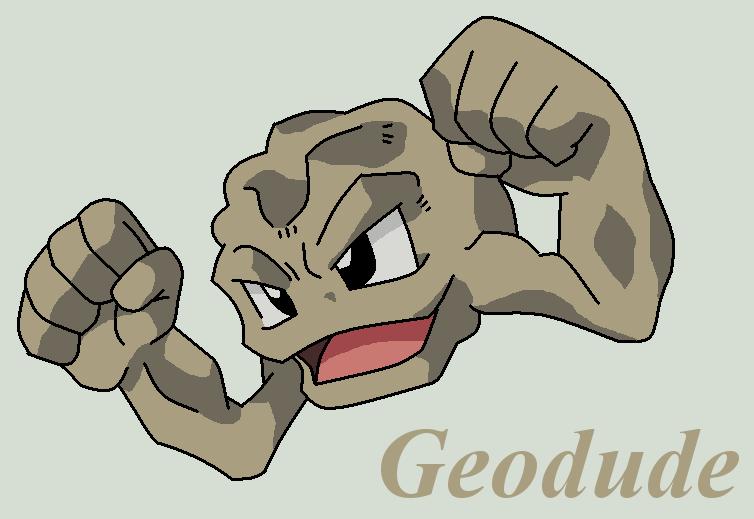 Geodude by Roky320 on deviantART