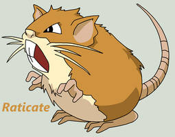 Raticate by Roky320